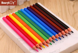 New Plastic Wood Free Jumbo Color Pencil From China