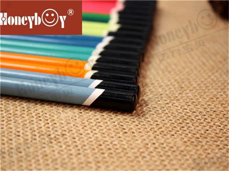 Honeyboy Beatiful Color Sharpened Dipped Cap Pencil From China