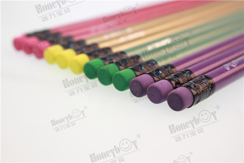 Customized Design Sharpened Metallic Paint Pencil with Logo