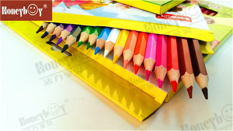2021 China Wooden High Quality Color Pencil with Color Box