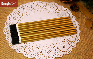 Fashion Golden Metallic Paint Pencil with Dipped Cap